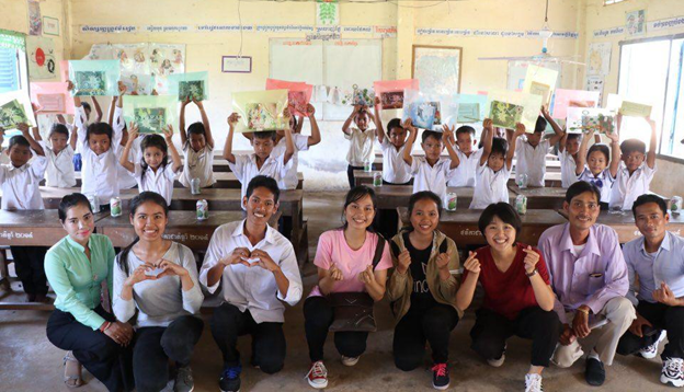 A Global Family of Young People Building a World of Peace:  Character Education and Peace Projects (Cambodia)