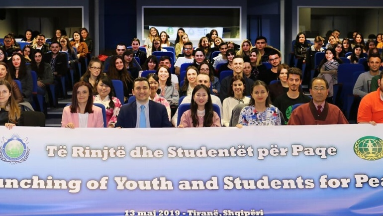 Inauguration of YSP (Youth and Students for Peace) in Albania