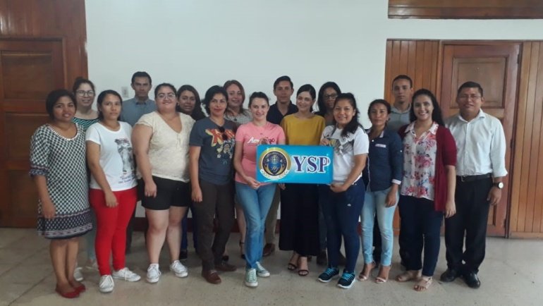 Meeting of Youth Ambassador for Peace (Nicaragua)