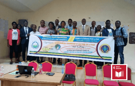 IAYSP Gabon held character education activities and a conference