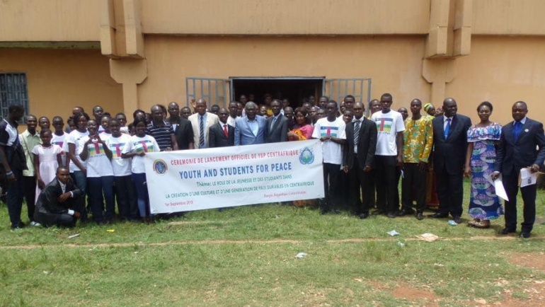 Official Launch of YSP – Central African Republic