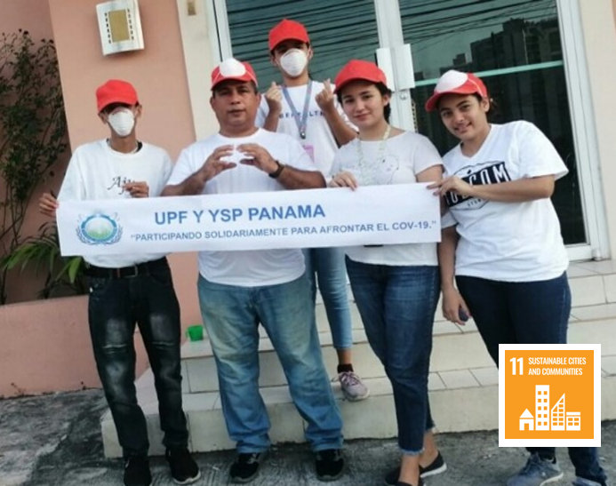 Participating in Solidarity to Face COVID-19 (Panama)