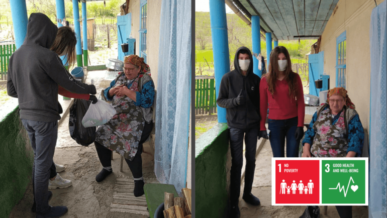 Humanitarian Aid and Emotional Support from Young People for the Elderly (Moldova)