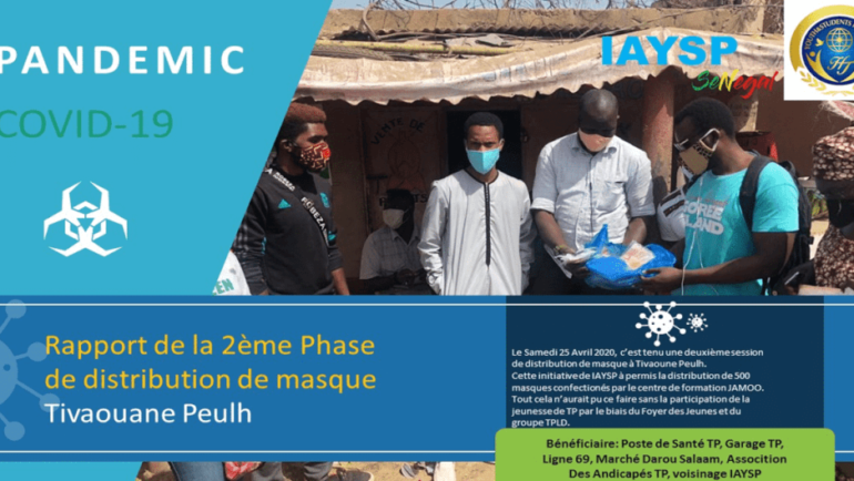 Overcoming Pandemic COVID-19 project in Senegal