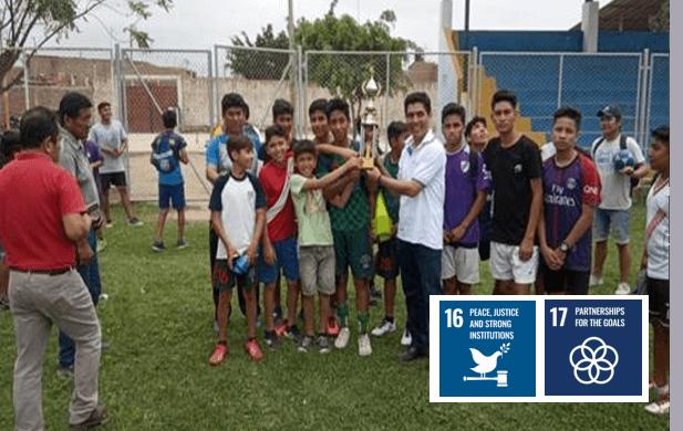 International Youth Day :  Football Championship (Peru)