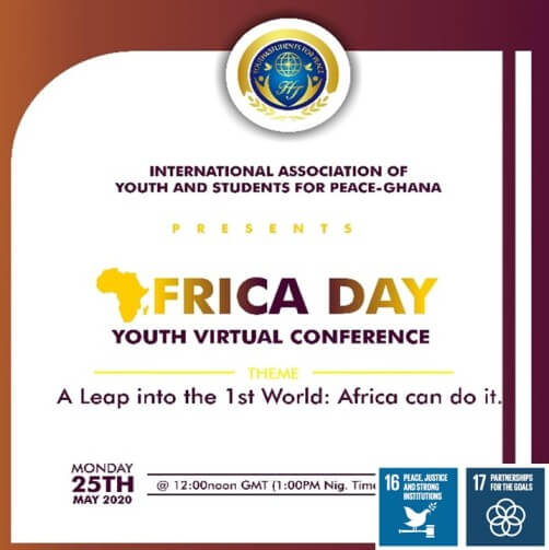 IAYSP Ghana Celebrates the Africa Day with Youths and Professionals Across the globe