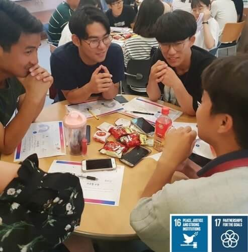 1,470 Youth of Korea participated in the Peace Designer Seminars during 2019