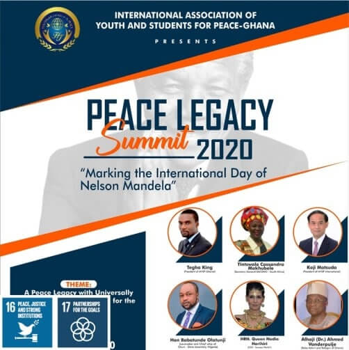 IAYSP Ghana marks the International Day of Nelson Mandela with the Peace Legacy Summit