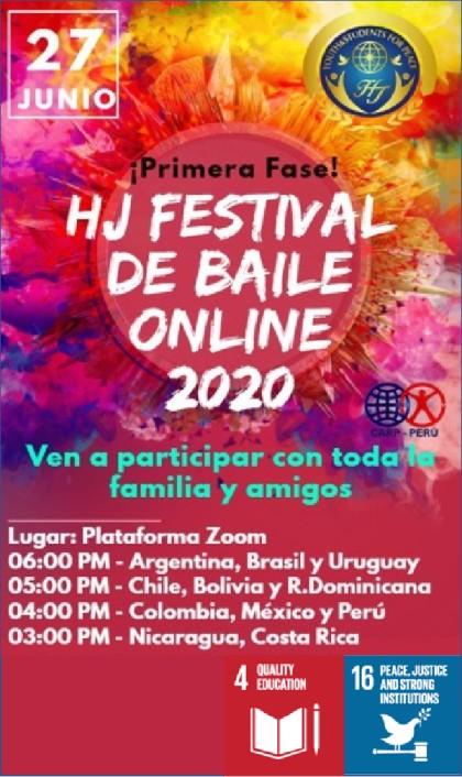 HJ International  Online Dance Festival 2020 (Perú)