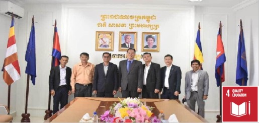 Curtesy Called and MOU Ceremony (Cambodia)