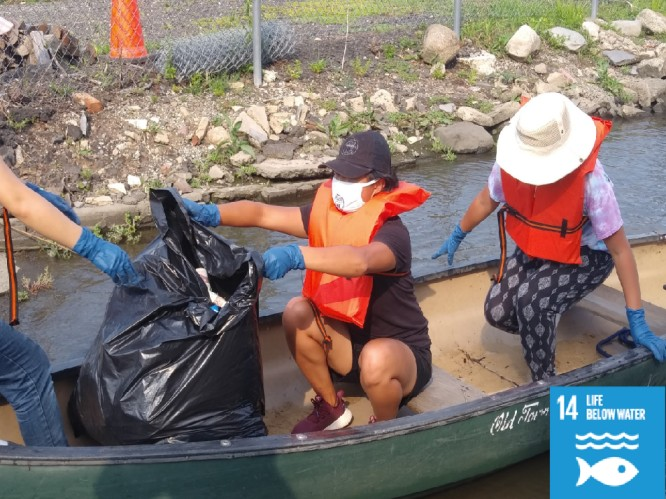 Hackensack River Clean Up (USA)