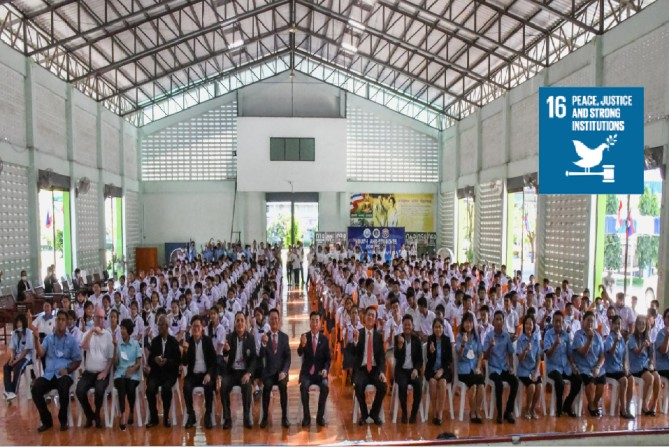 Raising and Empowering Youth Leaders Promoted the Filial Heart of Thailand