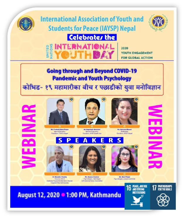 Celebrating the International Youth  Day (Nepal)