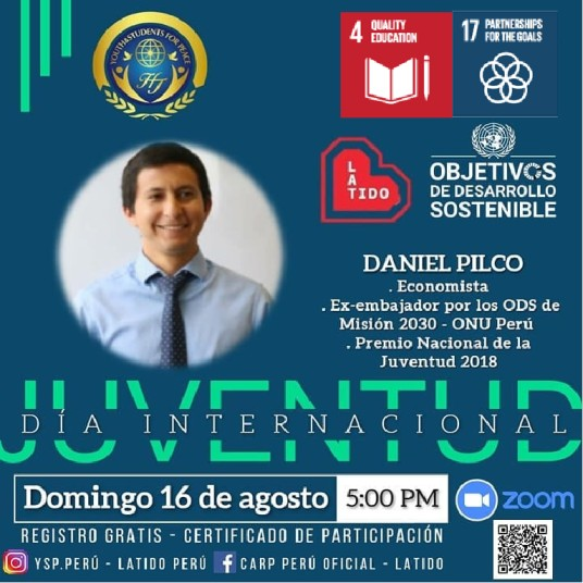 Online Lecture for Commemorating Youth International Day  (Peru)