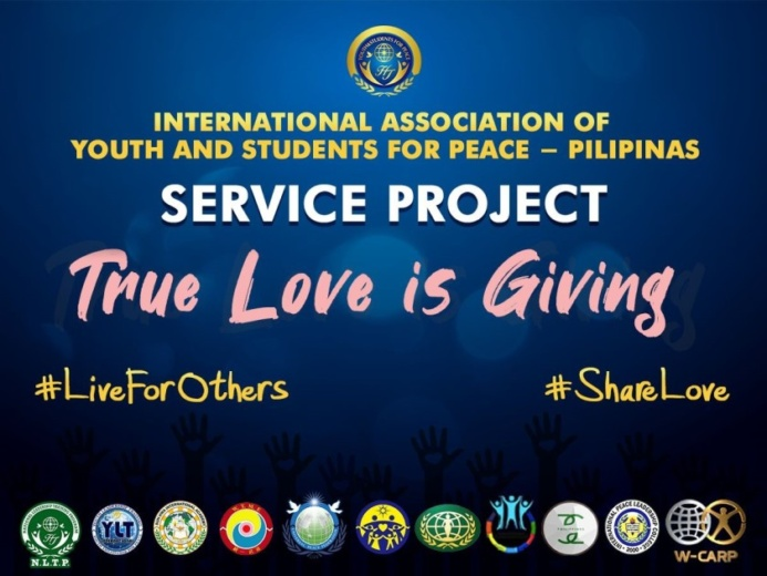 3rd Service Project for the victims of typhoons in the Philippine