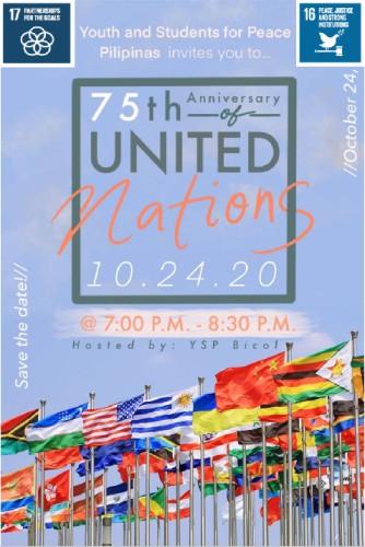 UN 75TH ANNIVERSARY (Philippines)