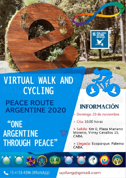 Cycling Peace Road 2020 (Argentina)