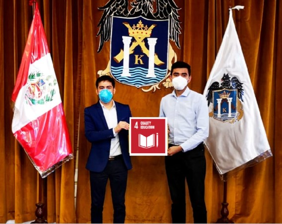 Appointment of Youth Ambassadors for Peace (Peru)