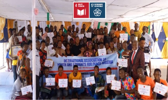 Workshop marking International Volunteer Day (Nigeria)