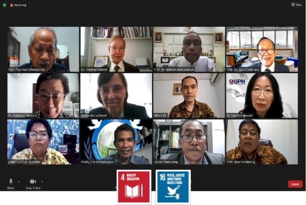 The World at a Turning Point: The Role of Youth and Students in Peace-Building (Indonesia)