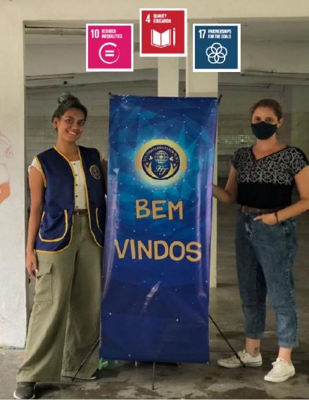 Voluntary Painting in Public School (Brazil)