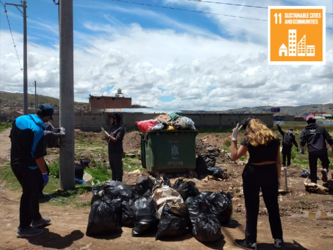 Social Activities–Taking care of the Environment in local communities (Peru)