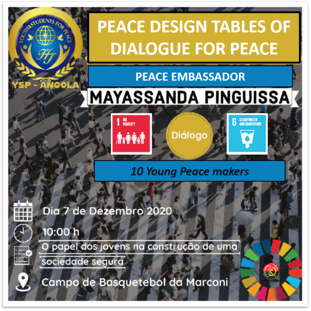 Peace Design Table # 10 The role of young people in building a safe society (Angola)