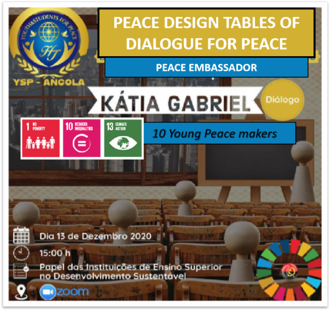 Peace Design Table #16 The role of Higher Education Institutions in Sustainable Development (Angola)