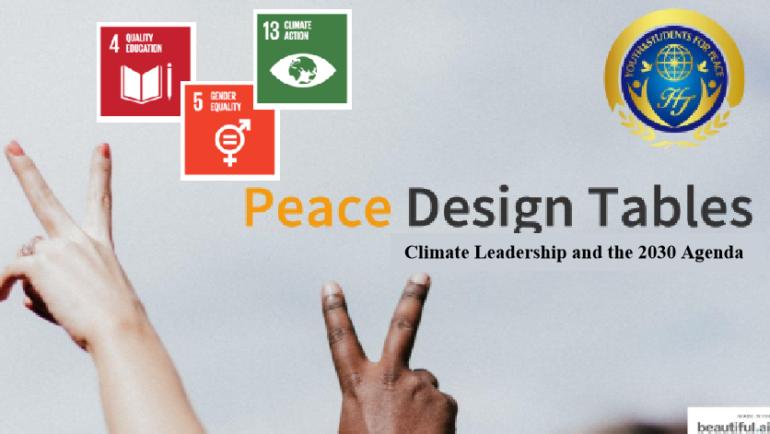 Peace Design Table # 13 Climate Leadership and the 2030 Agenda (Angola)