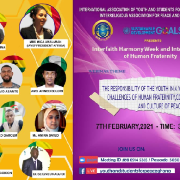 Interfaith Harmony Week and international Day of Human Fraternity (Benin)