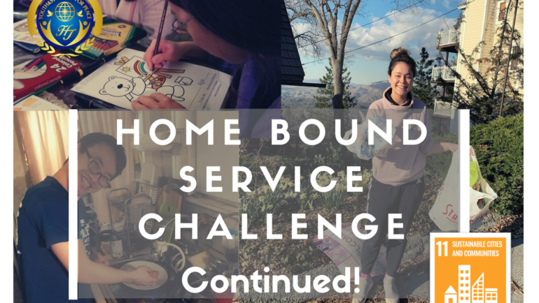 'Homebound Acts of Service' Challenge (United States)