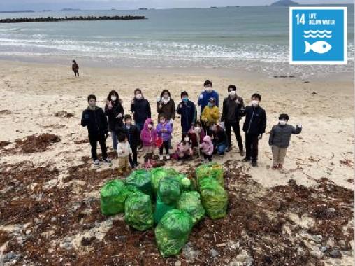 Ayaragi Beach Clean up project (Japan)