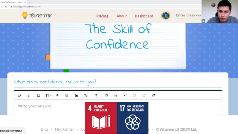 RISE with us! The skill of Confidence (Czech-Slovak)