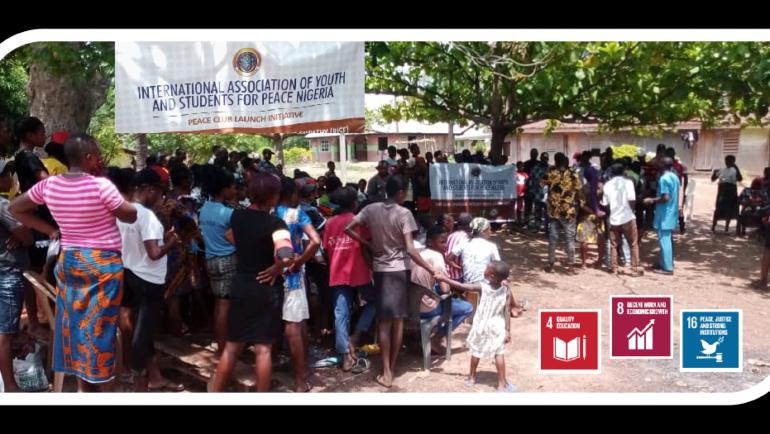 Launch of Peace Club in Nigeria