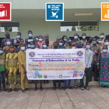 Peace Education Tour in Public Universities (Benin)