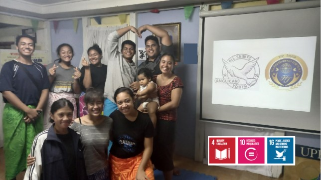 Watch-party for IAYSP Rally of Hope (Samoa)