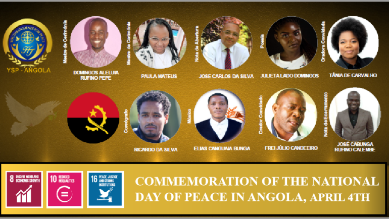 Commemoration of the Day of Peace and National Reconciliation of Angola (Webinar)