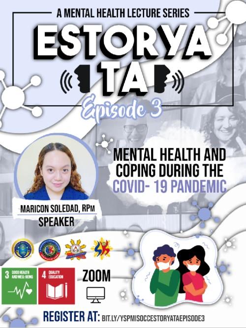 Estorya Ta: Mental Health Webinar Series Episode 3 (Philippines)