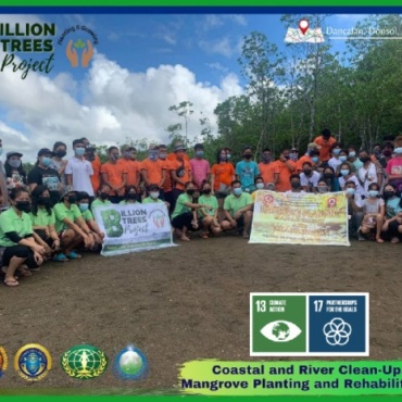 Coastal and Clean Up drive and Mangrove Planting and Rehabilitation (Philippines)