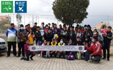 1st Inter-Institutional Youth Wally Championship (Bolivia)