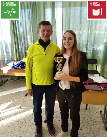 Meeting with the world champion in 48 hours running (Russia)