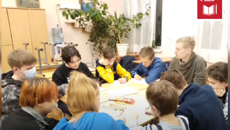 'Me, friends and the world' training for volunteers (Russia)