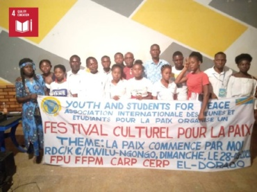 Celebration of World Theater Day and Peace Conference (Democratic Republic of Congo)