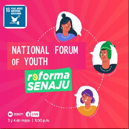 National Youth Forum: Senaju Reform (Peru)