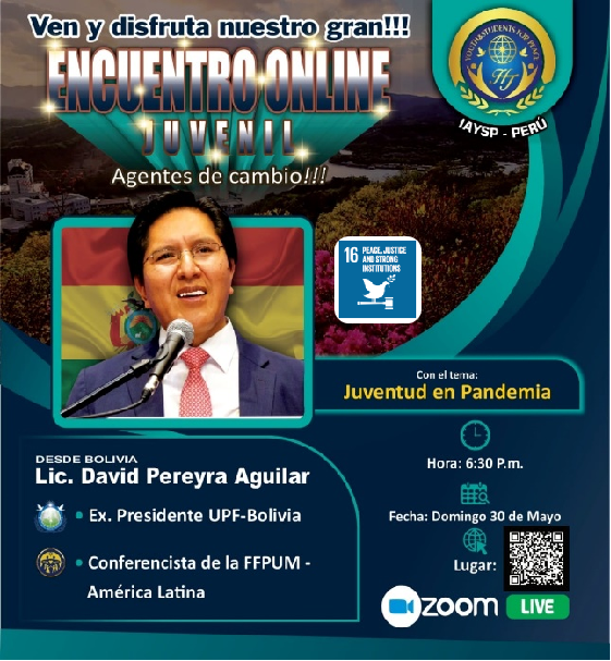 """Agents of Change Program 2 """"Youth as agents of change"""" (Peru)"""
