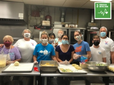 Intergenerational Volunteering with Healing Meals (USA)