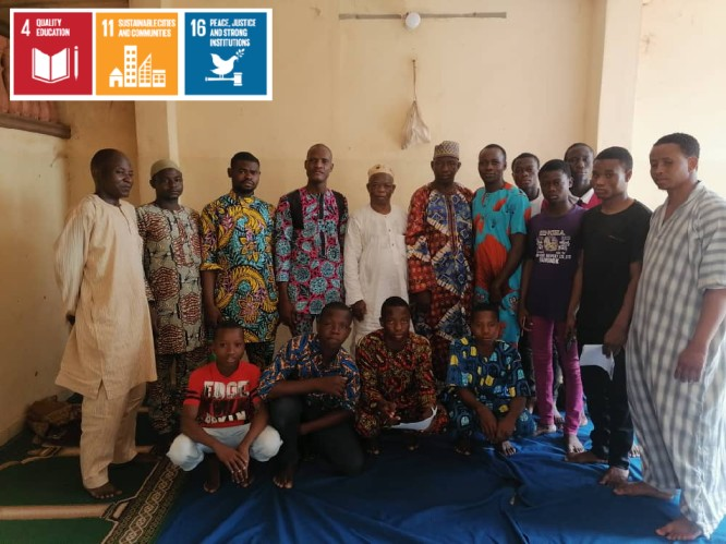 Peace start with me: Special meeting (Benin)