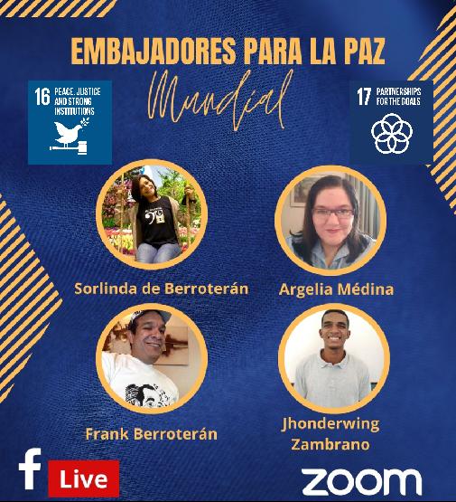 Nomination of new Youth Ambassadors for Peace (Venezuela)
