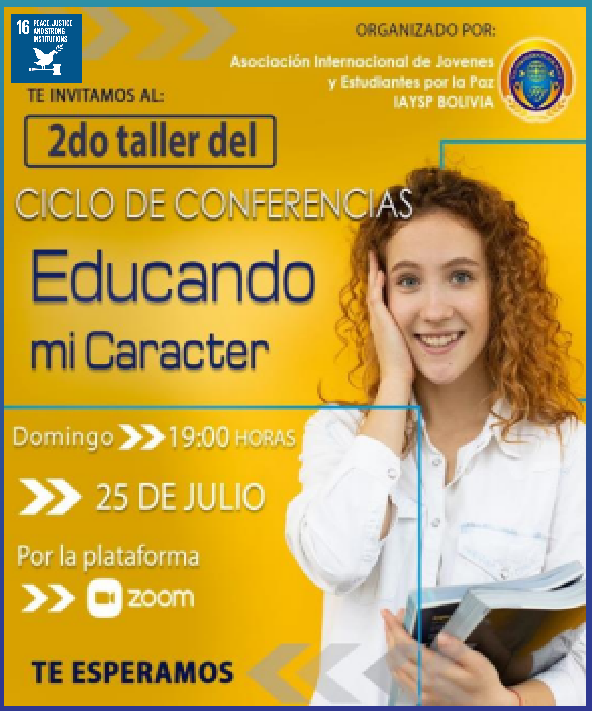 Online Educational Programs of July (Bolivia)