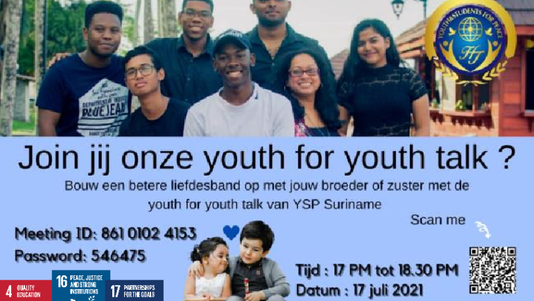 Youth Talk about Character Development  (Suriname)